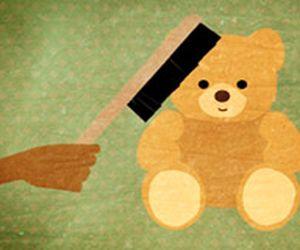 Como limpar ursinhos de pelúcia