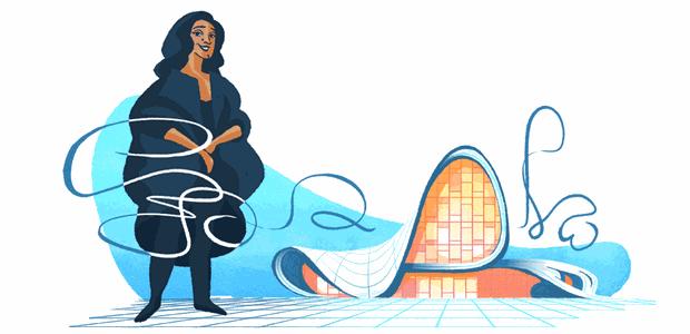 1-doodle-google-celebração-a-zaha-hadid (Foto: Reprodução/Google)