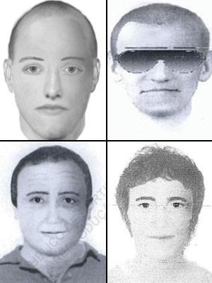 300x 400 Fotos de novos suspeitos no caso Madeleine McCann, divulgadas nesta segunda-feira (14) pela Scotland Yard (Foto: Metropolitan Police/AP)