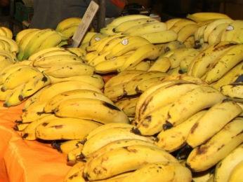 Banana foi o produto mais barato (Foto: Cesar Brustolin/SMCS/Divulgação)