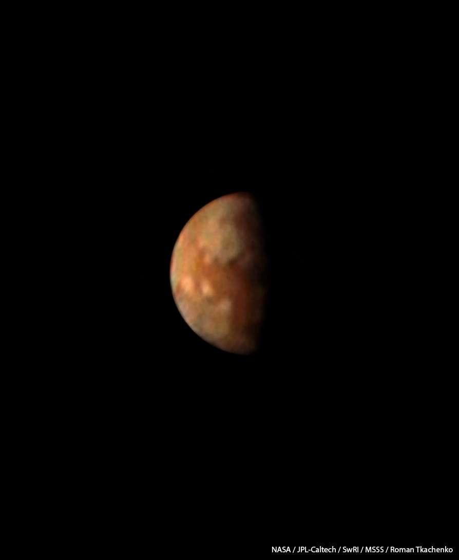 Júpiter (Foto: Jupiter's volcanic moon Io. NASA / JPL-Caltech / SwRI / MSSS / Roman Tkachenko)