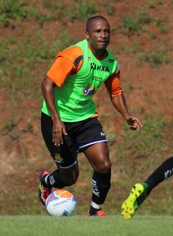 Rodrigo Silva atacante Criciúma (Foto: Leonardo Zanin / Criciúma EC)