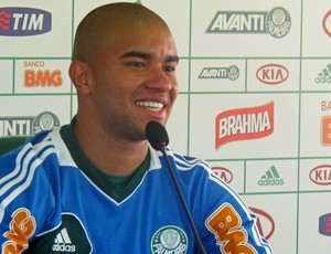 Mauricio Ramos coletiva Palmeiras (Foto: Rodrigo Faber / Globoesporte.com)