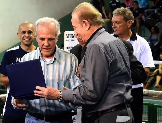 Eder Jofre recebe homenagem boxe (Foto: Divulgação / Federação Paulista de Boxe )