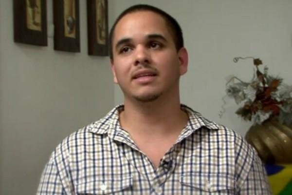 Ron nasceu em Pelotas e procura a mãe brasileira (Foto: Reprodução/ RBS TV)