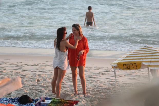 Fernanda Gentil e a namorada (Foto: AgNews / AgNews)