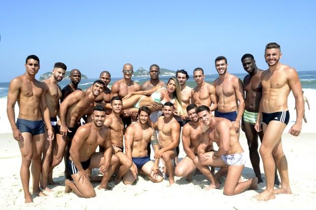 Candidatos ao Mister Universo Cidade do Rio (Foto: Dan Nascimento / DGN Assessoria)
