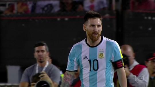 AFA tentará mostrar vídeo à Fifa para alegar que ofensa de Messi era só uma gíria