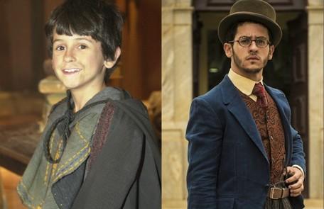 A estreia de David Lucas foi em 'Alma gêmea' (2005), de Walcyr Carrasco. Em 2016, ele atuou em 'Êta mundo bom!', do mesmo autor Divulgação/TV Globo