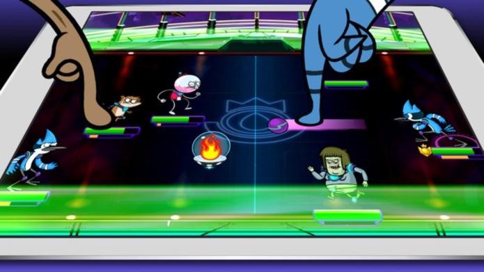 Apenas um show tem jogo com Queimada futurista (Foto: Divulgação)