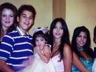 Kris Jenner abre o baú e mostra foto da família Kardashian