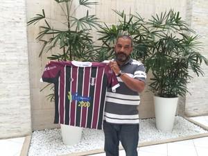 Luís Verdini, vice de futebol do Barra da Tijuca (Foto: SMX Assessoria)