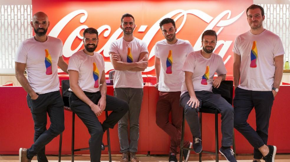 Coca-Cola publicou foto em nota com o título: