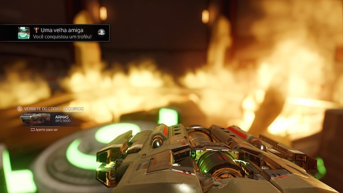 Doom: seja agressivo e nunca fique parado (Foto: Reprodução/Victor Teixeira)