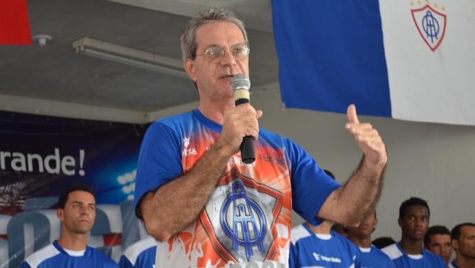 José Carlos Amaral; Itabaiana; técnico (Foto: Thiago Barbosa)