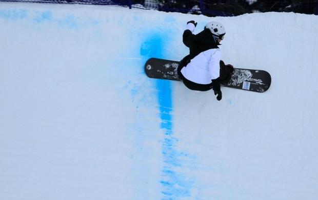 snowboard Isabel Clark treino canadá (Foto: Iván Fuenzalida Sáez)