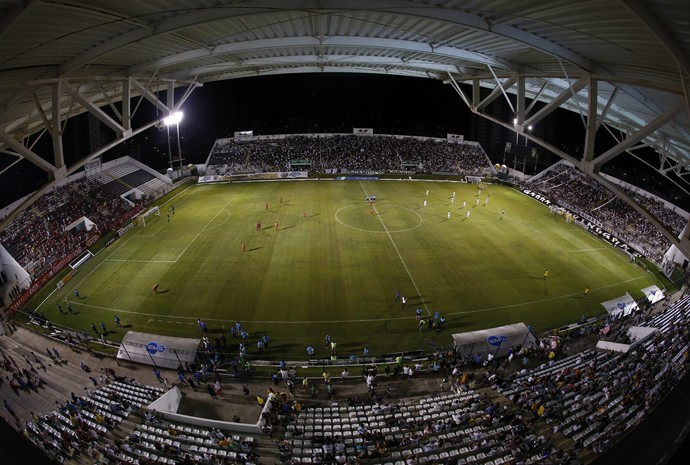 ABC x América-RN Estádio Frasqueirão Campeonato Potiguar (Foto: Alexandre Lago/GloboEsporte.com)