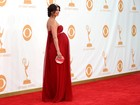 Grávida, Morena Baccarin, atriz brasileira de 'Homeland', vai ao Emmy