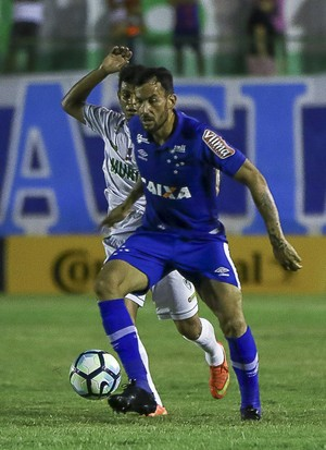 Ariel Cabral; Cruzeiro; Murici (Foto: Thiago Parmalat/Light Press)