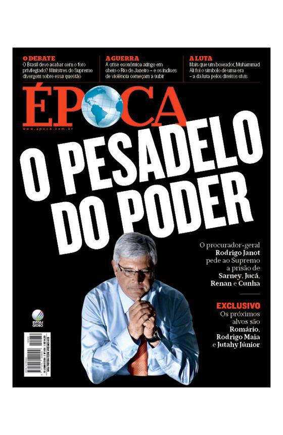Revista ÉPOCA - capa da edição 939 -  (Foto: Gustavo Moreno/CB/D.A Press)