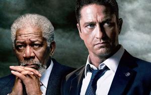 Gerard Butler e Morgan Freeman são os destaques da semana em 'Invasão a Londres'