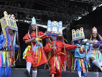 Espetáculo 'Brincadeiras de Natal' é opção de diversão. (Foto: Inaldo Menezes/ Prefeitura do Recife)