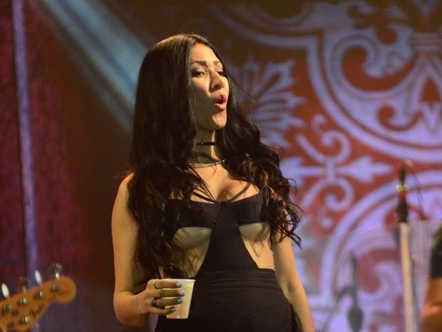 Simaria em show em São Paulo (Foto: Eduardo Martins/ Ag. News)