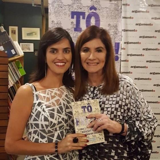 As autoras e jornalistas Renata Monti e Luciana Fróes desvendam mistérios da alta gastronomia em novo livro (Foto: Bruno Barreto)