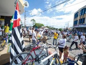 12ª edição do passeio ciclístico fecha programação das Festa do Figo  (Foto: Rodolfo Soares )
