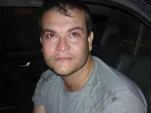 Haroldo de Oliveira foi preso com 156 kg de maconha (Foto: Divulgação/Polícia Militar)