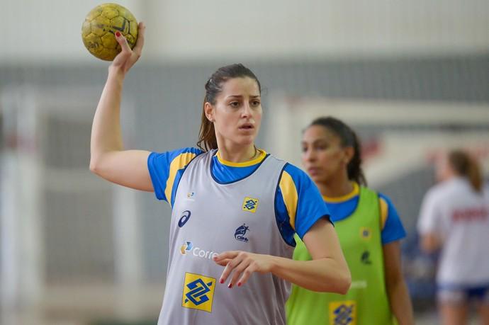 Eduarda Amorim, Duda, treino Brasil, Rio de Janeiro (Foto: Alexandre Loureiro/Inovafoto)