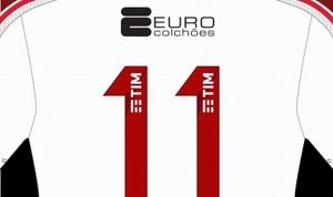 Euro Colchões é a marca do patrocínio pontual na camisa do Fla (Foto: Divulgação)