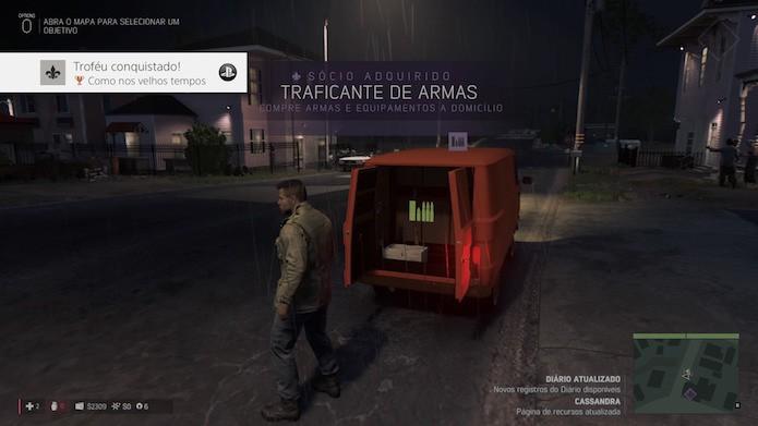 Mafia 3: evite comprar armas e munições (Foto: Reprodução/Victor Teixeira)