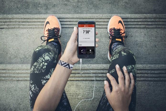 Nike+ Running agora tem integração com Spotify (Foto: Divulgação/Nike)