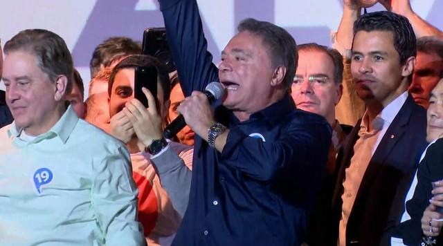 Podemos oficializa candidatura de Álvaro Dias à Presidência da República