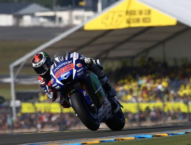 Jorge Lorenzo le Mans 2 Mundomoto