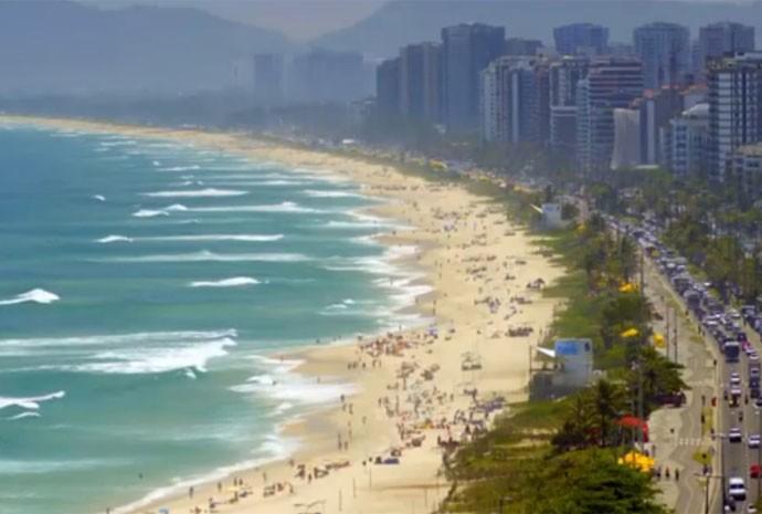 A orla do Rio é sempre uma ótima opção de passeio (Foto: Gshow / TV Globo)