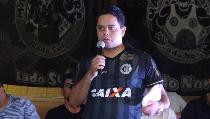 Bruno Euclides, presidente do ASA (Foto: Leonardo Freire/GloboEsporte.com)