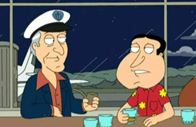 Em 2007, ele foi personagem da série animada 'Uma família da pesada' (Foto: Reprodução)