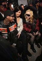 Madonna, Kylie Jenner e Paris Hilton vão a desfile nos Estados Unidos