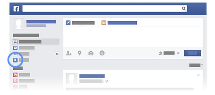 Saiba como salvar links de notícias, músicas e vídeos para ler depois no Facebook (Foto: Reprodução/Facebook)