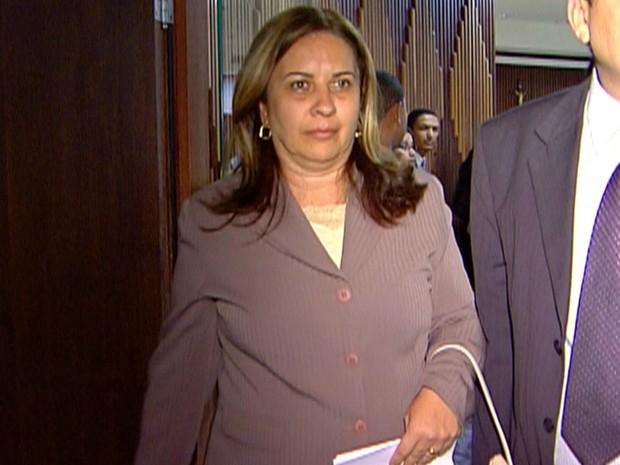 Juíza aposentada Olga Regina de Souza Santiago (Foto: Reprodução/TV Globo)