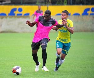 Palmeiras x União Barbarense jogo-treino São Paulo (Foto: Sanderson Barbarini / Foco no Esporte)