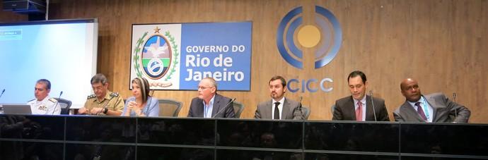 José Mariano Beltrame reunião de segurança para a final copa do mundo maracanã (Foto: Edgard Maciel de Sá)