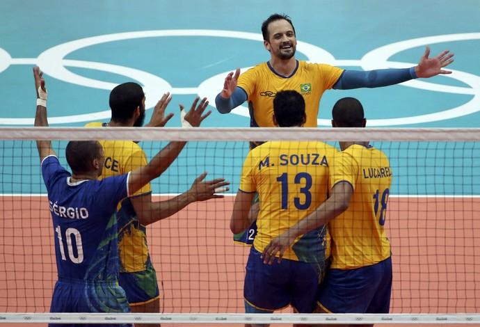 Brasil x França vôlei masculino (Foto  Reuters) 69c108b0f1604