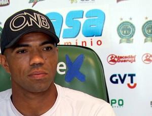 Emerson, goleiro do Guarani (Foto: Reprodução EPTV)