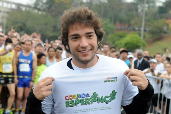 Corrida Esperança une solidariedade e bem-estar (Foto: Ronaldo Milagres/TV Globo)