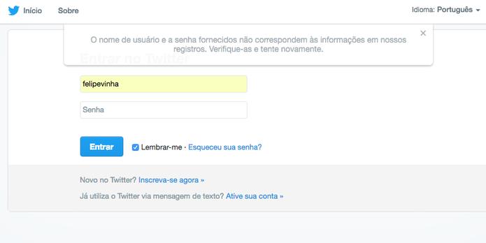 Cuidado com aplicativos maliciosos no Twitter (Foto: Reprodução/Felipe Vinha)
