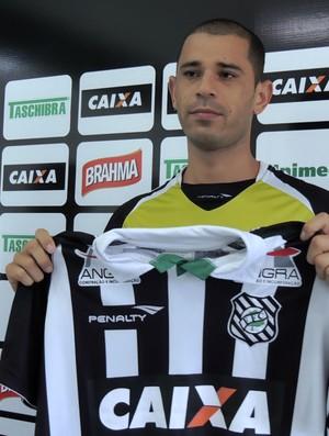 Rivaldo Figueirense apresentação (Foto: Renan Koerich)
