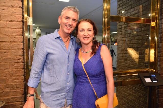 Debora Olivieri e Ruud Dankers (Foto: Divulgação)